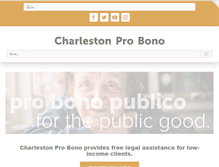 Tablet Preview of charlestonprobono.org